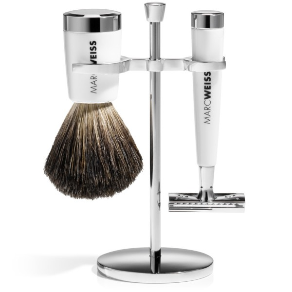 SAFETY RAZOR SET White